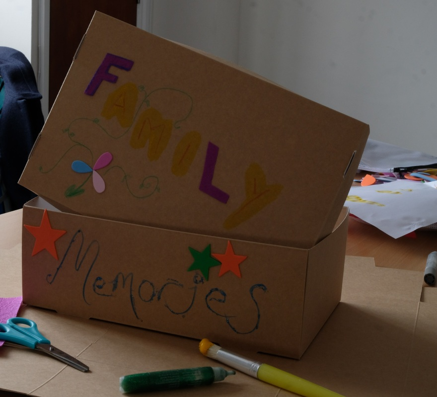Picture of a decorated box